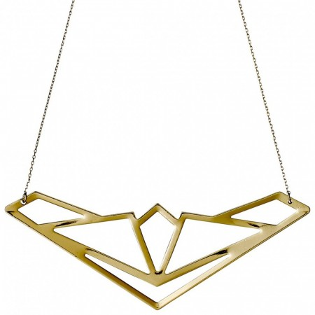 PILGRIM Spire necklace gold plated