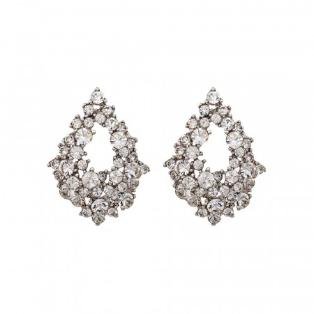 Alice earrings crystal