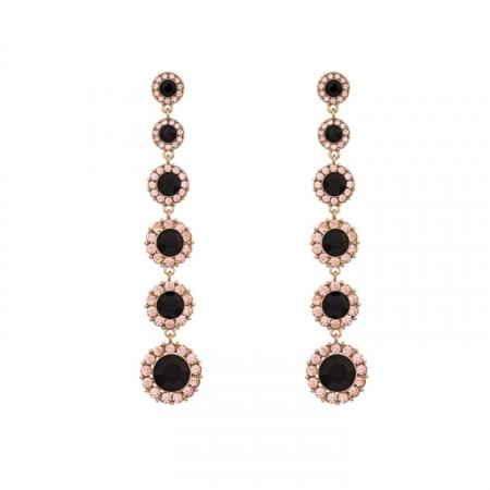 Celeste earrings jet