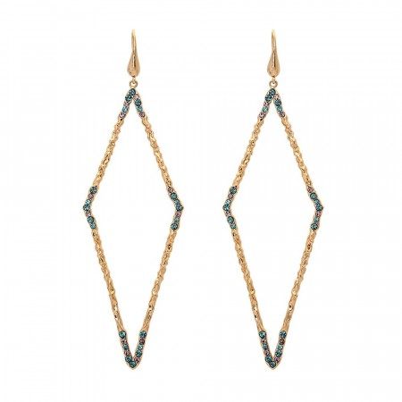 Jagger earrings indian sapphire