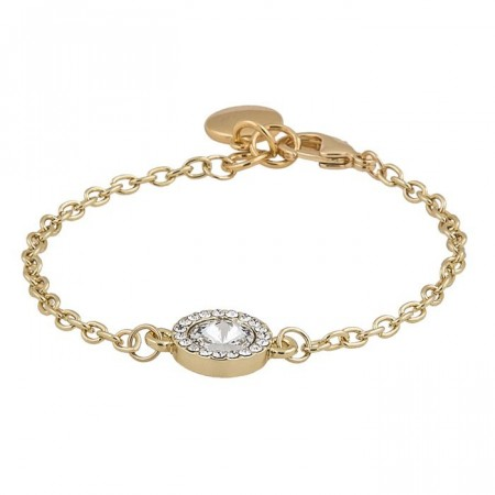 Sence small bracelet gold/clear