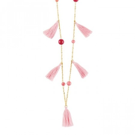 Dyrberg/Kern Taylor necklace coral