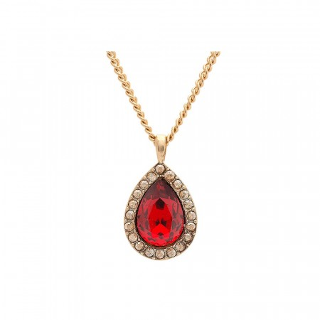 Miss Amy necklace scarlet