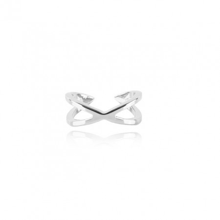 COOEE Twist Ring Silver