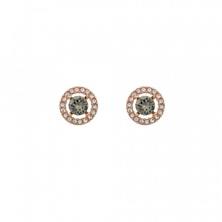 Miss Miranda earrings black diamond