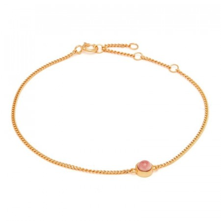 Fall bracelet with eden rose pearl
