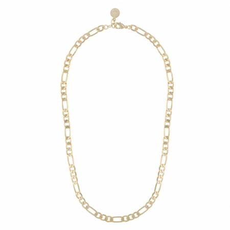 SNÖ Anchor chain necklace 42 plain gold