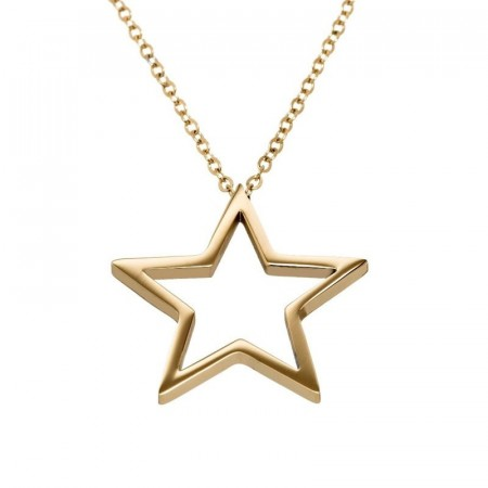 Nova Necklace Long Gold