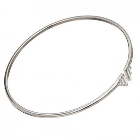 Divine Wings Bangle Steel