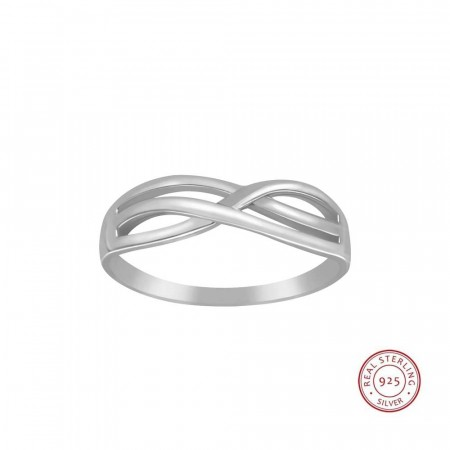 Sterling silver Always and forever ring