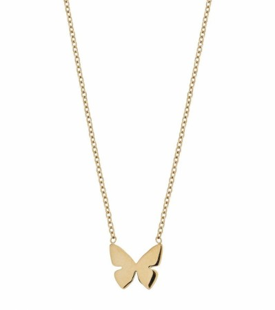 Edblad Papillon butterfly necklace gold
