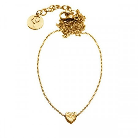 Little Heart Necklace Gold