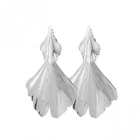 Dyrberg/Kern Drika earrings shiny silver