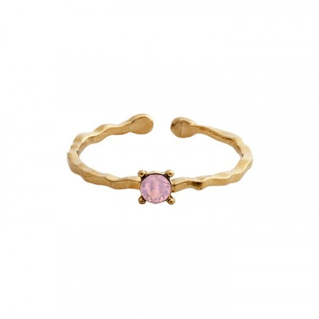 Ada ring rose opal