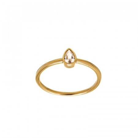 Little Drop Ring Gold