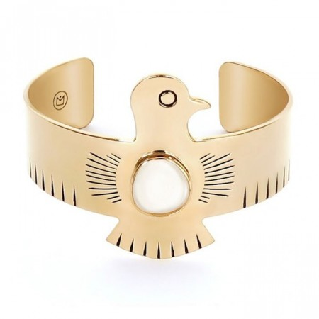HIPANEMA cuff armbånd Royal gold