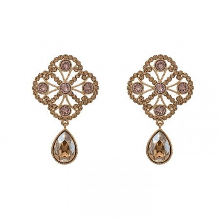 Miss Lola earrings golden shadow