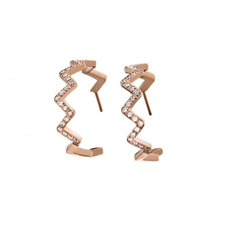 Alpine Earrings Rose Gold