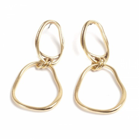 A&C Sculptured hoops big earring