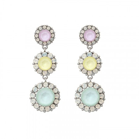 Sienna earrings sugar pastel