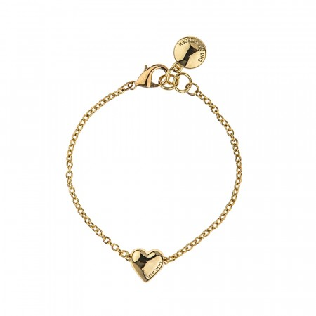SNÖ Small card chain bracelet gold