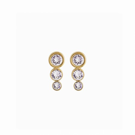 Edblad Dew drop studs multi gold