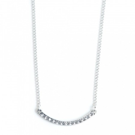 A&C Sharp silver necklace with pendant