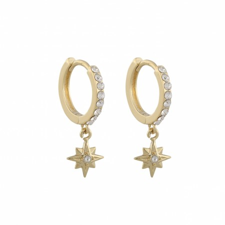 SNÖ Feliz ring stone earring gold/clear