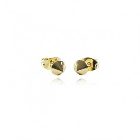 COOEE Spike Gold Plated Earring