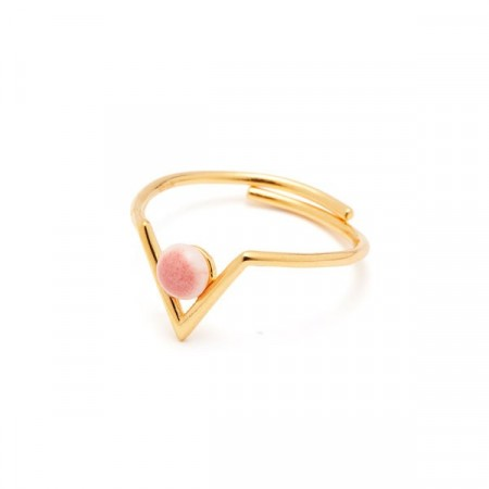 Inbetween ring heather/rosa