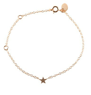 Cooee Star Rose Gold Plated Bracelet