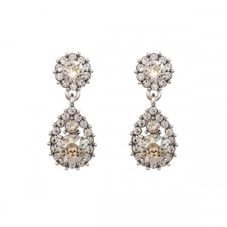 Sofia earrings crystal
