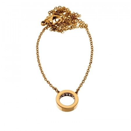 Monaco Necklace Mini Short Gold