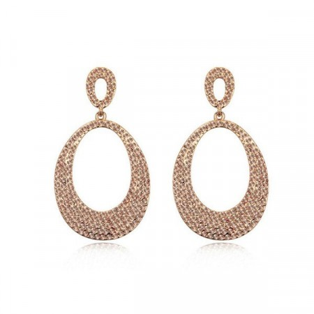 Rose gold fever earrings