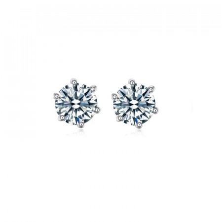 Essential crystal stud earrings