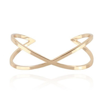 COOEE Twist Cuff Gold Plated 18k