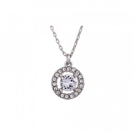 Miss Miranda necklace crystal