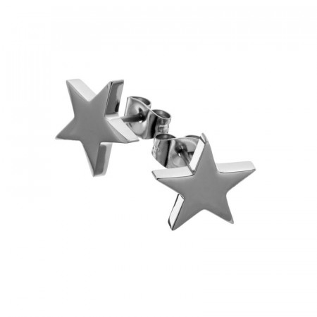 Star studs large steel