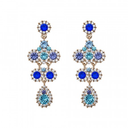 Miss Kate earrings ocean blue