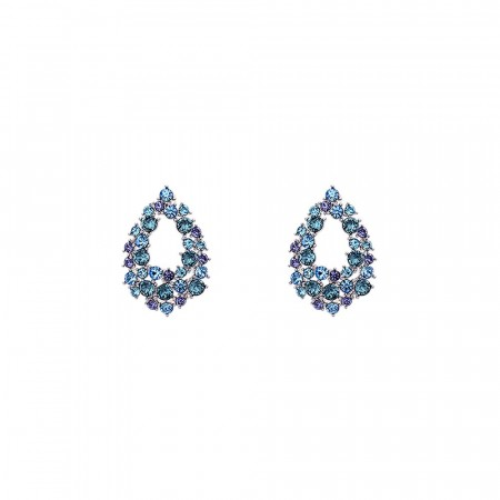 Petite Alice earrings ocean blue
