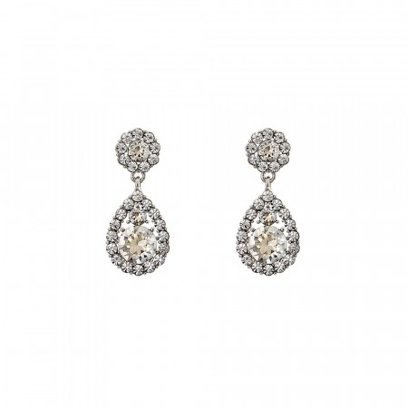 Lily and Rose petite Sofia earrings crystal