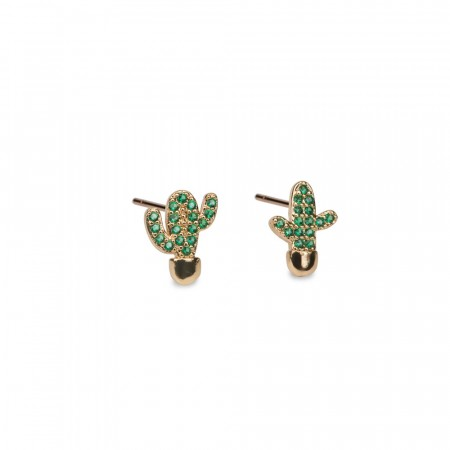 Mini Cactus earring
