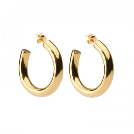 Syster P Bolded hoop earring