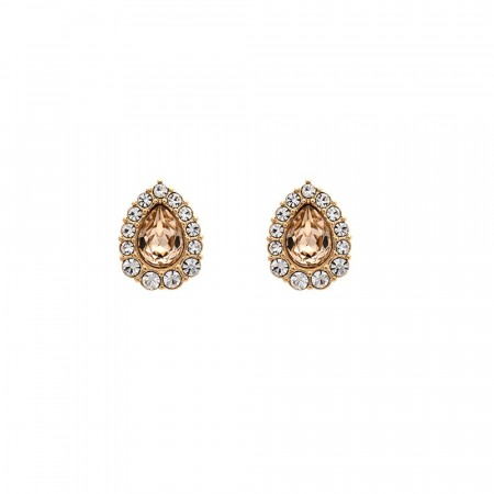 Amelie earrings light silk