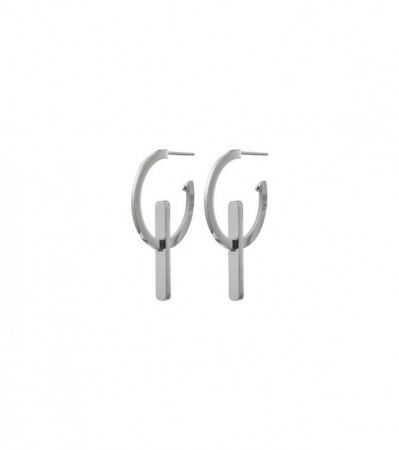 Edblad Power earrings creole silver