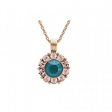 Sofia necklace royal green
