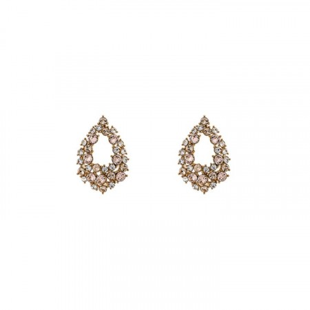 Petite Alice earrings silk/gold