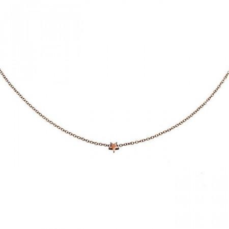 Star Necklace Mini Rose Gold