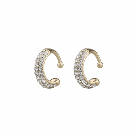 SNÖ Later earcuff gold/clear