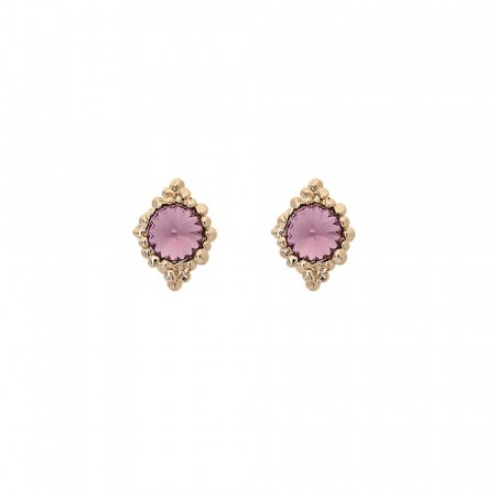 Bonnie earrings light amethyst